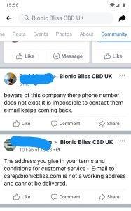 bionic bliss mary berry cbd scam